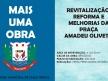 Obras de revitalização da Praça Amadeu Olivetti em Paula Freitas iniciam nesta semana