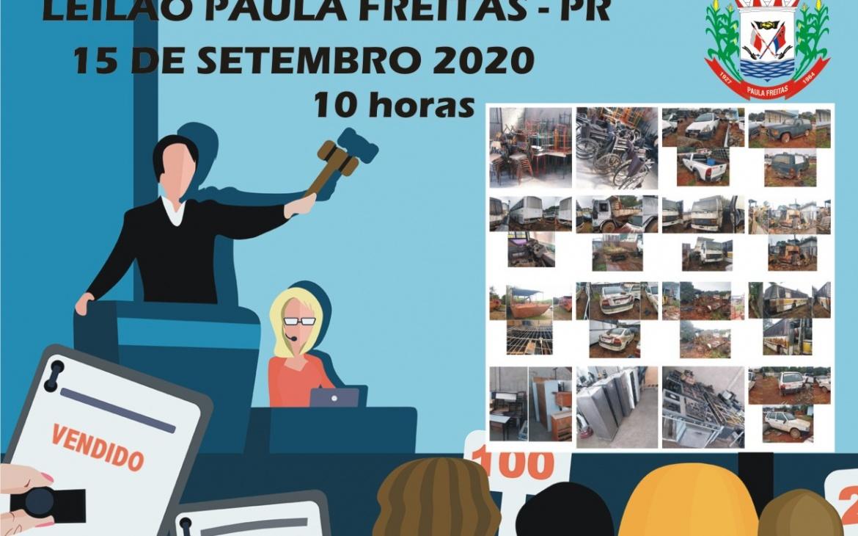 Leilão – Prefeitura Paula Freitas