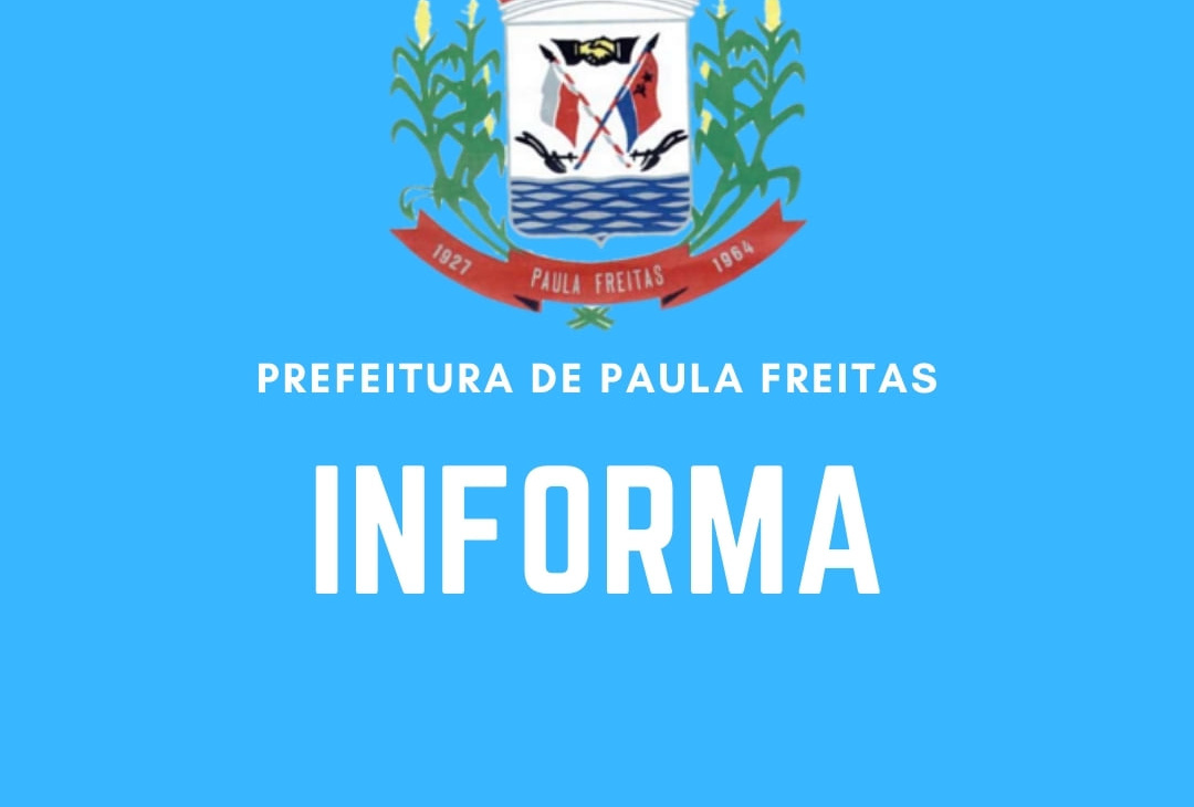 Retomada do Concurso Público da Prefeitura Municipal de Paula Freitas